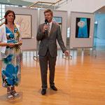 Salzburg AG Vorstand Dr. Josef Resch begrüßte die Besucher
