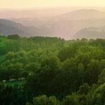 le gite : paysage du Limousin