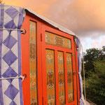 yurt at Ânes de vassivière