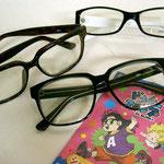 人気の伊達眼鏡UVカットレンズです。¥1050 バイちゃ!