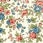 cod. 209 fiori rosso azzurri