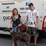 GUNTER, adoptado en Barcelona.