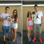 WALTER Y WHITE, adoptados en Espartinas (Sevilla).