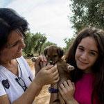 ODINA, adoptada en Arahal.