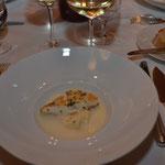 Gebratenes Steinbuttfilet aus dem Nordatlantik auf Sellerie-Limettenpüree mit Beure-Blanc