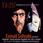 Mohr-Villa trifft Iran - Ausstellung FAUST - von Esmail Sohrabi - 2.11-16.12.2012 Villa 1OG