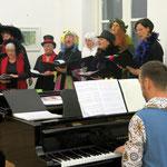 """Konzert """"Sing mit mir"""" mit dem Mohr-Villa-Chor am 5.2.2015 im Gewölbesaal"""