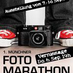 Münchner Fotomarathon - Ausstellung der besten Arbeiten im Gewölbesaal - Sept 2012
