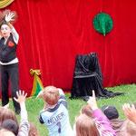 Mohr-Villa goes Camp: Theater ohne Worte 30.07.2014