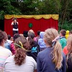 Mohr-Villa goes Camp: Theater ohne Worte 30.07.2014