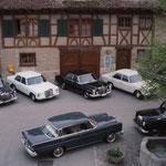 Parkplatz beim Kloster Fahr