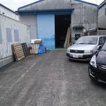 ここが私達の働く工場です。外観からは何を創る工場なのかわかりません!