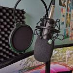 AUKEY Studio Mic Kondensator Mikrofon Set