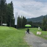 wir starten unsere Golfferien in Kössen