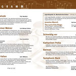 Konzertprogramm 2015