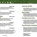 Konzertprogramm 2007