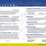 Konzertprogramm 2017