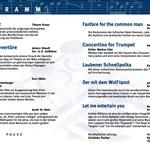 Konzertprogramm 2008