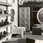 egozio Bettina di Brescia, design interno di Gian Butturini anni 60