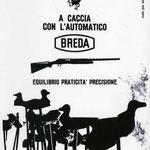 """Pubblicità """"Breda"""" di Brescia, disegno di Gian Butturini"""