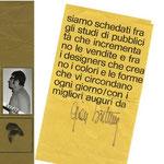Gian Butturini, grafico pubblicitario.