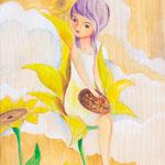 Sonnenblumendeva