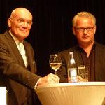 Links Ulf D. Posé, rechts Bernhard Mack