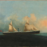 SS Priam built 1870 for Ocean Steamship Co. trading with China