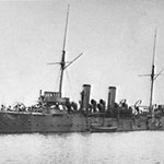 HMS Tauranga 1902 (same class as HMS Pallas)