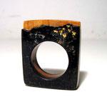 Scharzer Granit / Holz / Blattgold