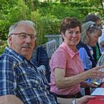 Stöff, Erika und Regula mit Franz