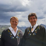 Thomas Grass und Kurt Wandfluh