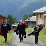 Ankunft auf der Wiesner Alp