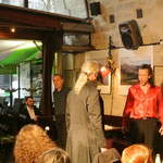 """Don Giovanni"", Viaduc Café, Paris, April 9th 2016, with Robert Valbon & Philippos Vazakas"
