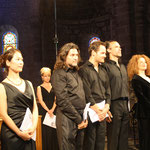 Concert in Chamalières with Ensemble Quadrivium Ars et Musica, conducted by Anna Daniela Sestito, August 29th, 2015