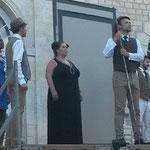 "Wagner, ""Rheingold"", Rochambeau, July 25th, 2015 (with Marie Denoyelle, Nadège Medenouvo, Laurent Slaars, Olivier Trommenschlager)"