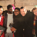 With Yoshi Itu, Gauz, Wilson Balda and Orlando Bass, Paris, Viaduc Café, February 3rd, 2015