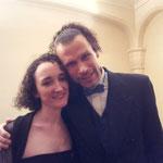 Avec Carole VILLIAUMEY, pianiste, mars 2014