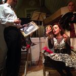 """""""Le choix d'Hercule"""", d'Hippolyte Wouters, avec Anne-Charlotte MONTVILLE et Robert VALBON, Bruxelles, février 2014"""