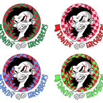 Dandy Tricksters - band logo, color variations