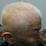 ①白髪隠しハイブリーチ(50代)