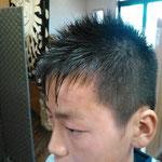ソフトモヒカン(中学生)