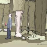 sentirsi distante in mezzo agli altri