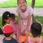 At an orphanage in China