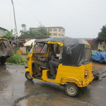 common taxi cab in Nigeria