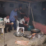 Where YWAM does all of the cooking