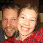 Dad and Hannah