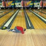 Bowling with Uncle Bruce & Aunt Michelle