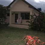 Front view of our guest house