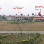 Picture taken of YWAM facilities (from opposite side of compound)